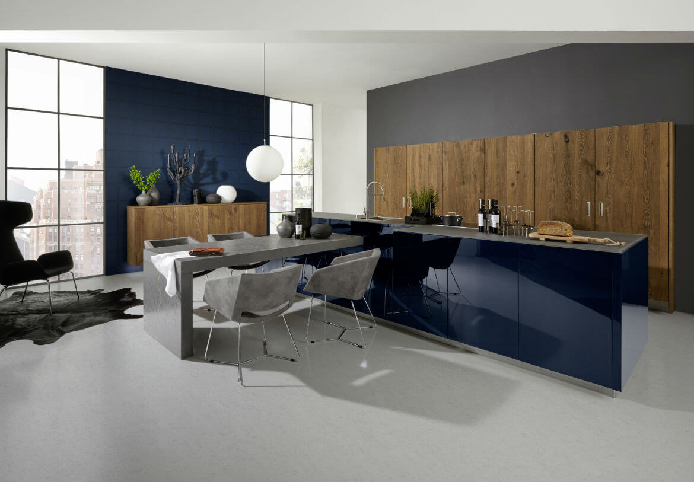 Tendencias 2016 2017 en muebles de cocina en m laga for Cocinas modernas pequenas 2016