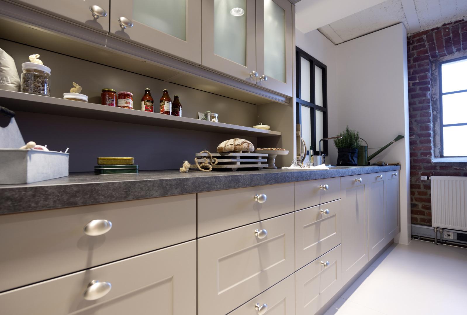 Tiradores para una cocina de dise o nolte cocinas - Tiradores de puertas de cocina ...