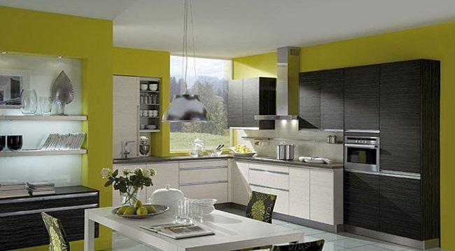 El dise o de una cocina nueva nolte cocinas - Pared cocina pintada ...