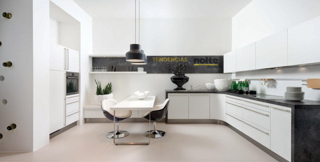 Nuevas tendencias para tu cocina en m laga nolte cocinas for Muebles de cocina velez malaga